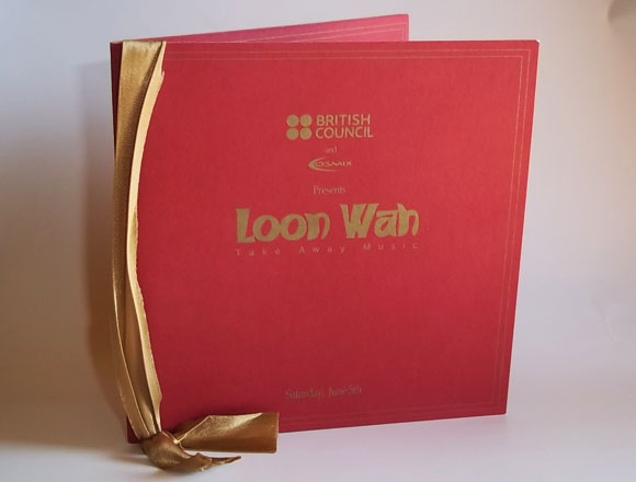 Loon Wah british council print design by Aggelos grontas graphic designer thessaloniki greece