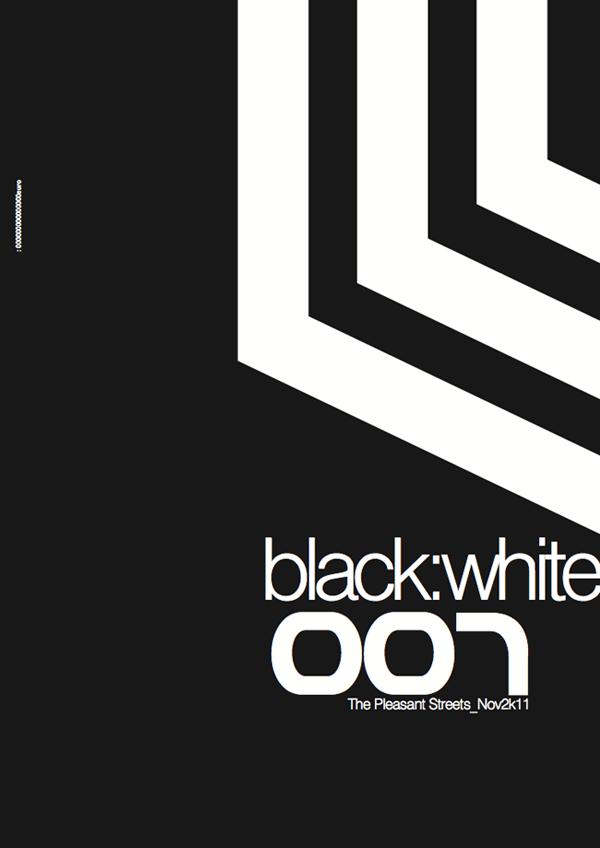 black:white 007 the pleasant streets