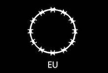 European Union Flag  Refugees Version